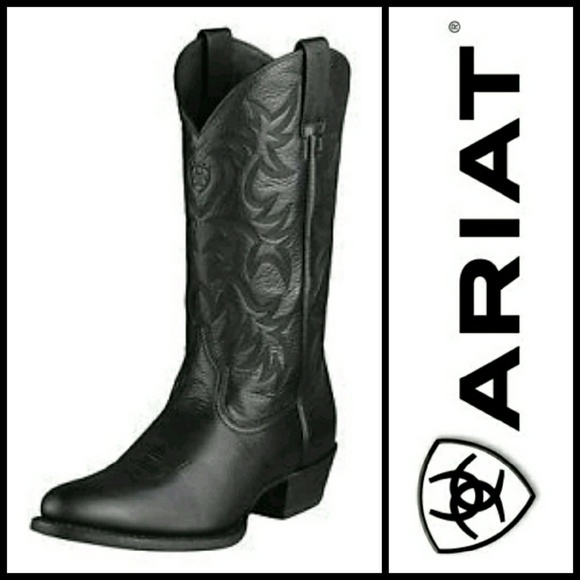 721207381d7 ARIAT Heritage Western R-Toe Cowboy Boots